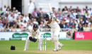 Cheteshwar Pujara sends one through the covers, England v India, 3rd Test, Trent Bridge, 3rd day, August 20, 2018