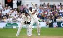 Virat Kohli muscles one away, England v India, 3rd Test, Trent Bridge, 3rd day, August 20, 2018