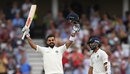 Virat Kohli acknowledges the applause after getting a century, England v India, 3rd Test, Trent Bridge, 3rd day, August 20, 2018