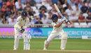 Ajinkya Rahane misses the cut to be bowled, England v India, 3rd Test, Trent Bridge, 3rd day, August 20, 2018