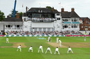 Ishant Sharma bowls to Alastair Cook with a packed slip cordon, England v India, 3rd Test, Trent Bridge, 3rd day, August 20, 2018
