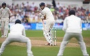 Alastair Cook watches as his outside edge is about to be pouched, England v India, 3rd Test, Trent Bridge, 4th day, August 21, 2018