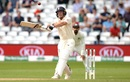 Jos Buttler miscues a pull, England v India, 3rd Test, Trent Bridge, 4th day, August 21, 2018