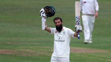 Moeen Ali starred with bat and ball