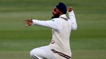Amar Virdi chipped through Lancashire's top order