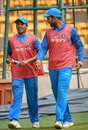 Prithvi Shaw and Hanuma Vihari have a chat, India A v Australia A, Quadrangular series 2018, Bengaluru, August 23, 2018