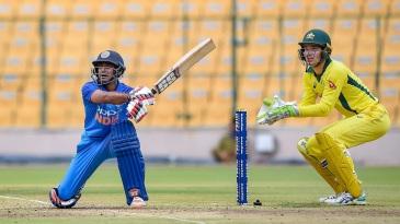Ambati Rayudu plays one on the leg side