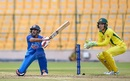 Ambati Rayudu plays one on the leg side, India A v Australia A, M.Chinnaswamy Stadium, August 23, 2018