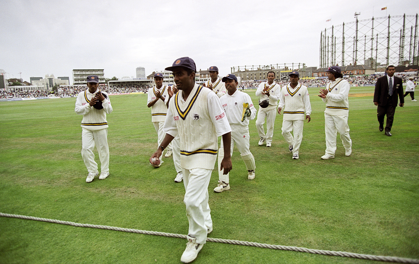 Murali's 16 for 220 at The Oval remained his best match figures over his career