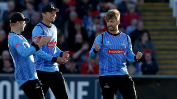 Will Beer played a key role for Sussex