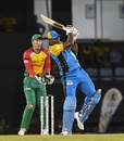 Kieron Pollard pulls, St Lucia Stars v Guyana Amazon Warriors, CPL 2018, Gros Islet, August 24, 2018