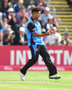Brett D'Oliveira picked up four wickets, Worcestershire v Gloucestershire, Vitality T20 Blast, Quarter-final, New Road, August 25, 2018