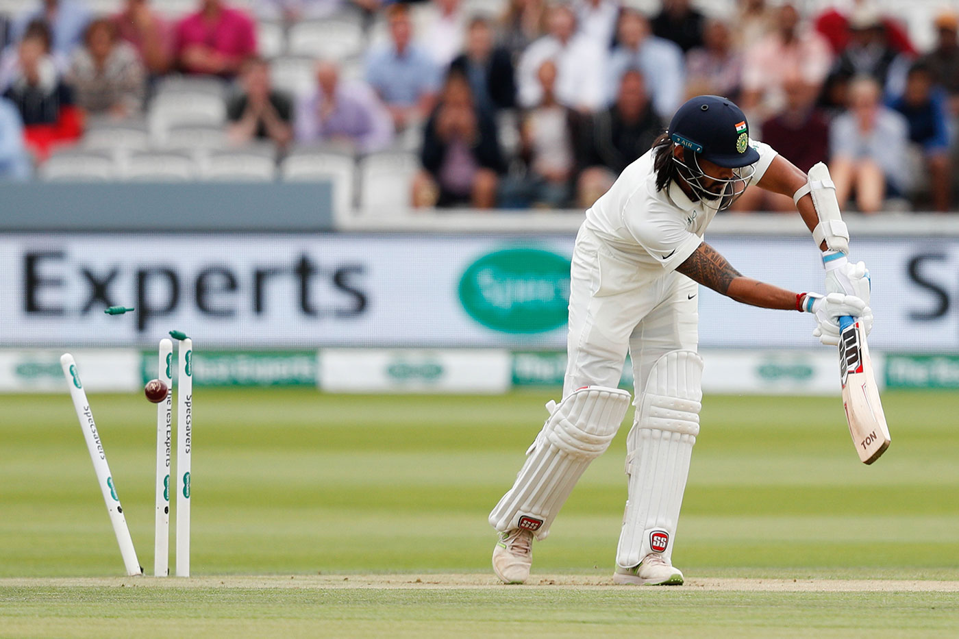Vijay was dismissed for a pair by James Anderson in the 2018 Lord's Test