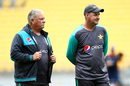 Mickey Arthur (right) and Steve Rixon have hauled Pakistan's fielding up by the seat of its pants