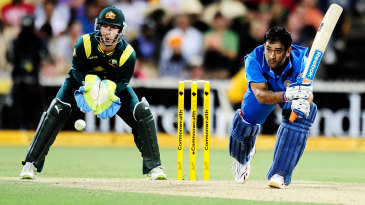 MS Dhoni might see the team to the end of the chase, but that doesn't mean he's the one winning the game for them