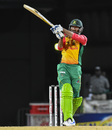 Sohail Tanvir slams one away, St Kitts and Nevis Patriots v Guyana Amazon Warriors, CPL 2018, Basseterre, August 28, 2018