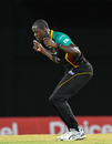 Carlos Brathwaite breaks into a jig, St Kitts and Nevis Patriots v Guyana Amazon Warriors, CPL 2018, Basseterre, August 28, 2018