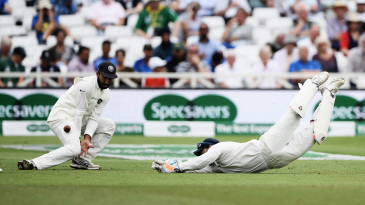 At Trent Bridge, Rishabh Pant dropped Jos Buttler on 1 and the batsman went on to make his maiden Test hundred
