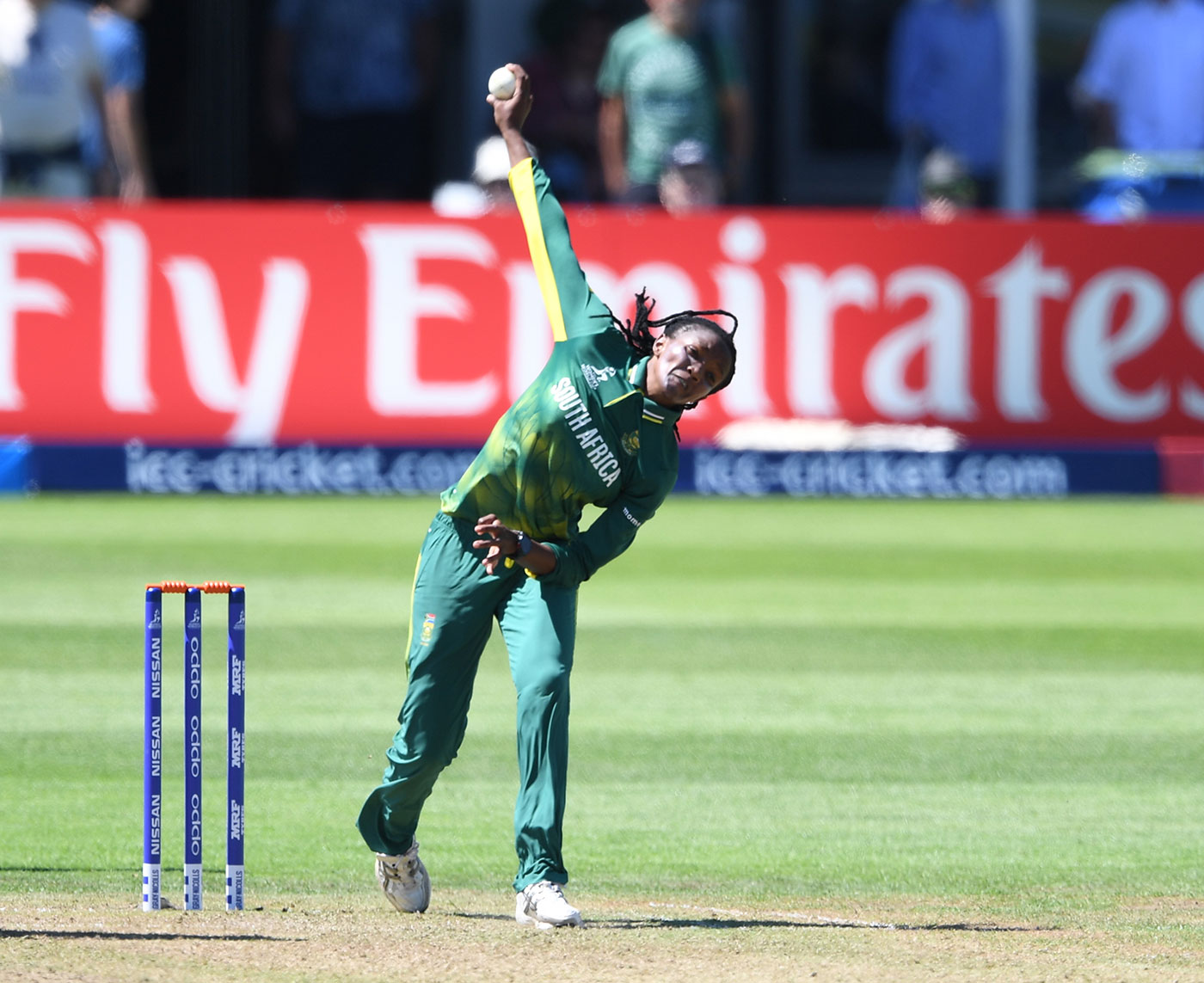 At No. 44, Ayabonga Khaka, who is primarily a bowler, is the highest-ranked black African batsman in South African women's ODIs