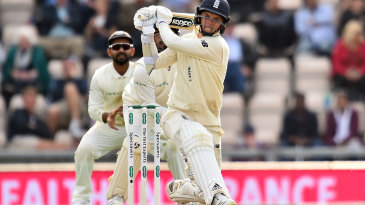 Sam Curran went to his half-century with a six