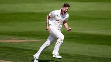Conor McKerr helped Surrey close in on victory