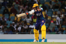 Steven Smith slaps one off the back foot, Barbados Tridents v Guyana Amazon Warriors, CPL 2018, Bridgetown, August 31, 2018