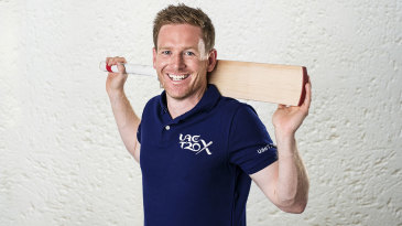 Eoin Morgan has been named an 'icon player' for the UAE T20x
