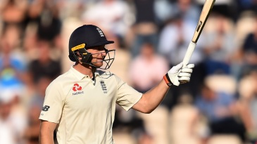 Jos Buttler brought up his ninth Test fifty