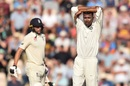 Hardik Pandya reacts in the field, England v India, 4th Test, 3rd day, Ageas Bowl, September 1, 2018