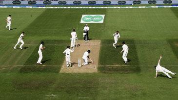 Moeen Ali celebrates R Ashwin's wicket