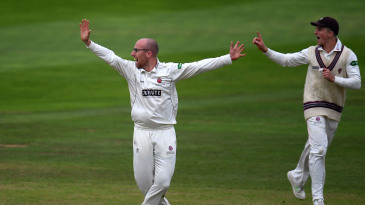 Jack Leach took seven wickets on the first day