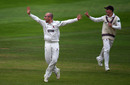 Jack Leach took seven wickets on the first day, Somerset v Lancashire, Specsavers Championship, Division One, Taunton, September 4, 2018