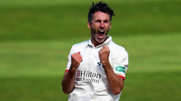 Graham Onions bounces in wicket-taking delight