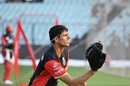 Ashish Nehra at the RCB nets