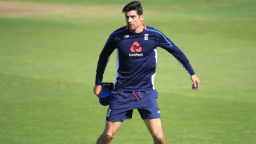Alastair Cook on the eve of his final Test
