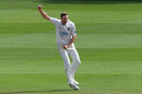 Ollie Robinson celebrates a wicket, Sussex v Derbyshire, Hove, Specsavers Championship Division Two, August 21, 2018