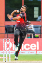 Ali Khan has been a leading force with the ball for Trinbago Knight Riders, Jamaica Tallawahs v Trinbago Knight Riders, CPL 2018, Lauderhill, August 19, 2018