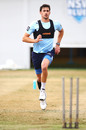 Mitchell Starc at a New South Wales practice session, Sydney, September 7, 2018