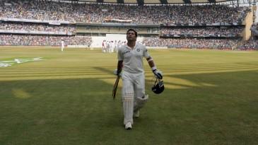 Sachin Tendulkar: a frequent top performer