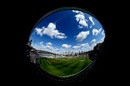 A fisheye lens view of The Oval, England v India, 5th Test, The Oval, 1st day, September 7, 2018