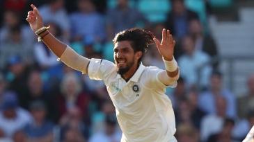 Ishant Sharma takes off