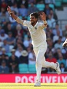 Ishant Sharma takes off, England v India, 5th Test, The Oval, 1st day, September 7, 2018