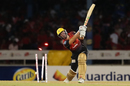 Chris Lynn was bowled after a quickfire knock, Trinbago Knight Riders v Barbados Tridents, CPL 2018, Port of Spain, September 7, 2018