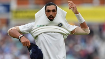 Ishant Sharma endured a tough second morning