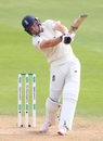 Jos Buttler plays an attacking shot, England v India, 5th Test, The Oval, 2nd day, September 8, 2018
