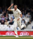 Stuart Broad took out Shikhar Dhawan early, England v India, 5th Test, The Oval, 2nd day, September 8, 2018