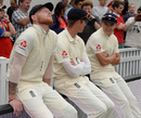 Ben Stokes, Keaton Jennings and Sam Curran, England v India, 5th Test, The Oval, 2nd day, September 8, 2018