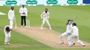 Alastair Cook ducks for cover as Cheteshwar Pujara plays a pull, England v India, 5th Test, The Oval, 2nd day, September 8, 2018