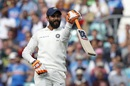 Ravindra Jadeja celebrates a half-century, England v India, 5th Test, The Oval, 3rd day, September 9, 2018