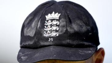 Ben Stokes' sweat soaked cap
